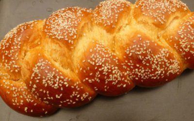 Tsoureki Paschalino: Greek Easter Bread