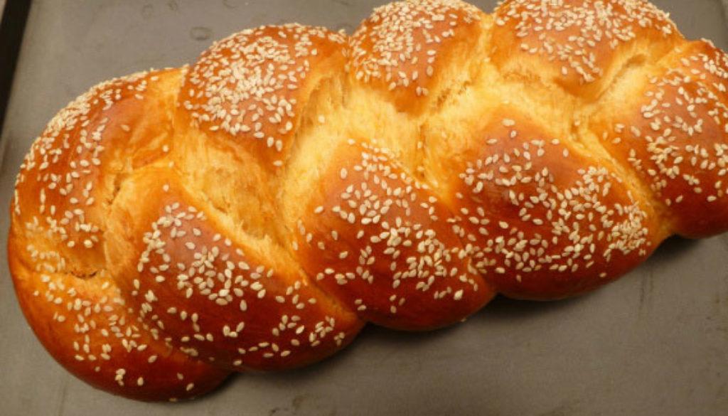 Tsoureki Paschalino: Greek Easter Bread